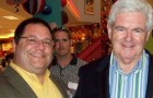 Pete Constant and Newt Gingrich, back when both were Republicans