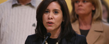 Assembly Member Nora Campos' AB 455 would allow unions to help determine who sits on cities' civil service commission.