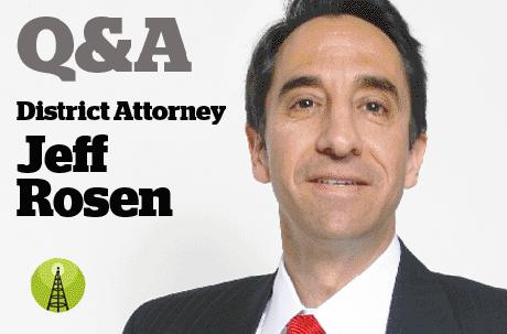 DA Jeff Rosen Answers Readers' Questions