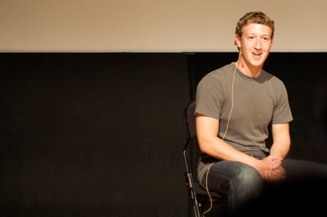 Facebook CEO Mark Zuckerberg is making the rounds for his company's IPO expected to to occur later this week. (Photo by Mathieu Thouvenin via Flickr)