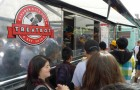 Treatbot is one of the more successful food trucks associated with San Jose's Moveable Feast program. (Photo by Felipe Buitrago)
