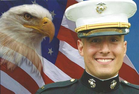 Saturday Services Planned for Marine Captain Matt Manoukian