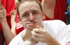 San Jose resident Joey Chestnut wants people to stop texting and driving.