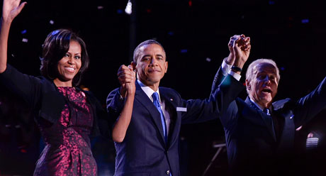 President Obama earned re-election on a night that featured a number of democratic victories at the national, state and local levels. (Photo by WCHI News, via Flickr)