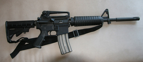 In the wake of the Sandy Hook Elementary School massacre, a former city attorney for Santa Clara is asking lawmakers in San Jose to consider new rules on assault weapons. (Photo by madrigal, via Flickr)