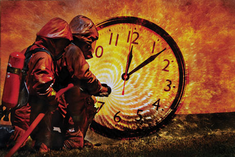 San Jose firefighter response times, already below the national and local expectations, will be even worse than expected. (Photo iIllustration by Kara Brown)