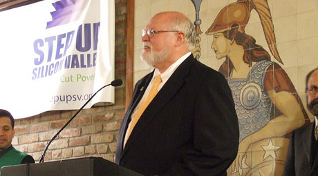 Jim Beall defeated Joe Coto in last November's race for a state Senate seat, but he has yet to let go of real and perceived election slights. (Photo courtesy of New America Foundation, via Flickr)
