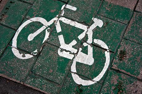 San Jose spent a lot of money on designing new bike lanes, and one councilmember now wants to get bicyclists off the sidewalks and on the roads. (Photo by Horia Varlan, via Flickr)
