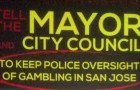 This is a cropped portion of a mailer recently sent to San Jose residents by a political action committee that has ties to a Sacramento lobbyist firm.