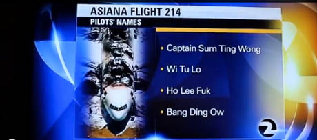 KTVU would like nothing more than for everyone to forget about its racist and factually incorrect report about the Asiana flight 214 crash.