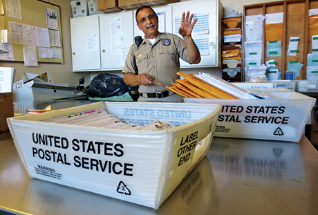 Salvatore Lombardo, a custody support assistant at Elmwood Correctional Facility, says he doesn't feel unsafe opening mail at the county jail.