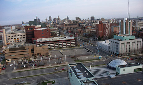 A number of contributing factors have led to Detroit's recent bankruptcy filing, but urban sprawl appears to one trait the city shares with San Jose. (Photo by Juan N Only, via Flickr)
