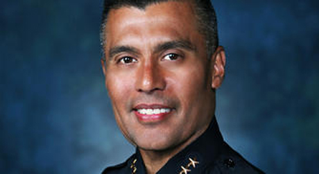 Larry Esquivel, San Jose's acting police chief, has waded into a war of words between City Hall and the police union.