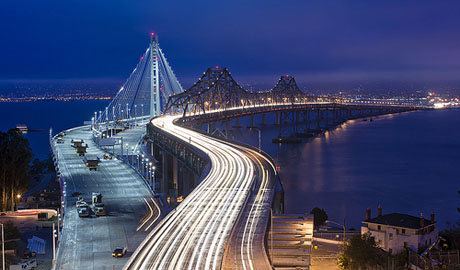 The new Bay Bridge will bear the name of longtime San Francisco politician Willie L. Brown Jr. (Photo by David Yu, via Flickr)