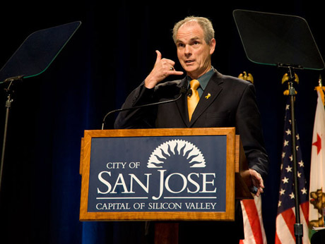 San Jose Mayor Chuck Reed thinks it would be a good idea for elected officials in San Jose to have lifelines in the form of legal defense funds.