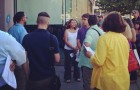 Residents of downtown San Jose gathered last week for a community walk through District 3.