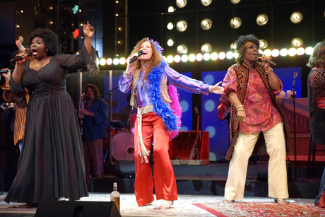 The Rep's One Night with Janis Joplin set a ticket sales record for the San Jose theatre company. (Photo by Kirk Tuck)