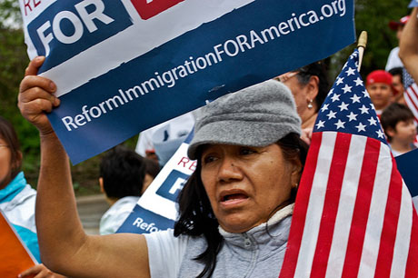 On Tuesday, the county Board of Supervisors will discuss its policy on detaining undocumented immigrants. (Photo by Sasha Y. Kimel, via Flickr)