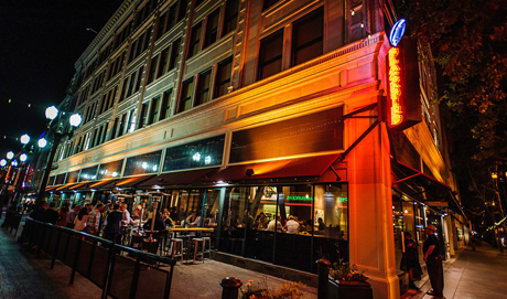 Blackbird Tavern is one of several new restaurant/bars in downtown that are making San Jose a more vibrant urban core. (Photo by Aron Cooperman, via Metroactive.com)