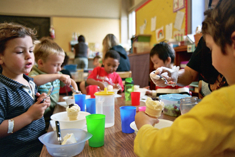 Gov. Jerry brown could include funding for preschool in next year's budget. (Photo by Sarah Gilbert, via Flickr)