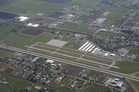 South County Airport could be getting a new name. (Photo by Ikluft, via Wikimedia Commons)