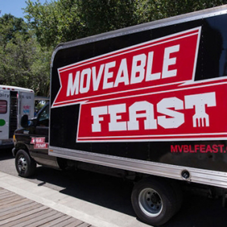 The organizers of Moveable Feast and Christmas in the Park got into a spat that led to a fleet of food trucks getting kicked out of downtown.