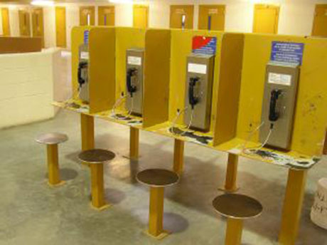 The cost of out-of-state phone calls just got a whole lot cheaper for inmates. (Photo via Department of Corrections)