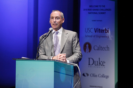 Dan Schnur brings impressive credentials to his run for secretary of state, and his recent change in political affiliation might only help his chances. (Photo by Steve Cohn, courtesy of USCViterbiSchool)