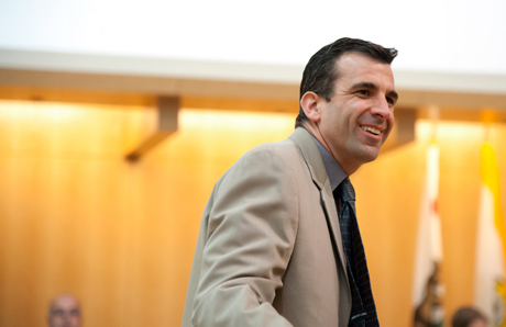 Sam Liccardo's campaign manager said that any money collected as a result of an improperly arranged fundraiser will be returned. (Photo by Colin Quirt)
