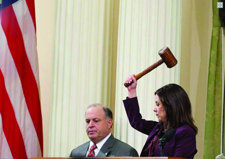 Former staffers and Capitol sources say Speaker pro Tem Nora Campos has routinely lost control of her temper during her three years in the State Assembly.