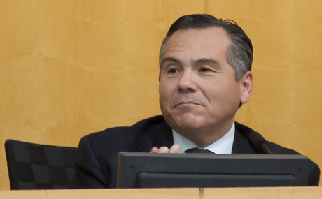 San Jose Councilman Xavier Campos wants to get a sales tax increase on the November ballot. (Photo by Colin Quirt)