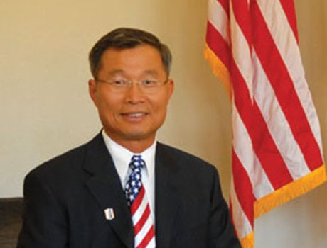 The Cupertino city leader is known for his passionate, if not abrasive, public discourse. (Photo via Barry Chang for Cupertino)
