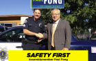 State Assemblyman Paul Fong crossed ethical lines when his campaign posted ads featuring an on-duty San Jose police officer.