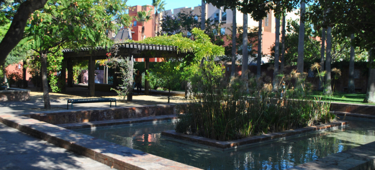 The Mexican heritage Plaza in San Jose will host a mayoral forum at 10am Saturday. (Photo—cropped for space—by Wayne Hsieh, via Flickr)