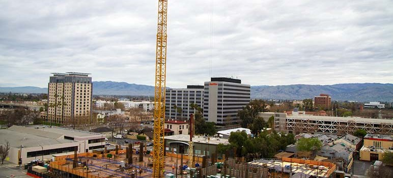 Development in northern parts of the county and San Jose helped boost property values.