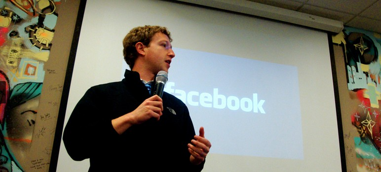 Mark Zuckerberg and his wife recently pledged $120 million to help local underperforming schools. (Photo cropped for space.)