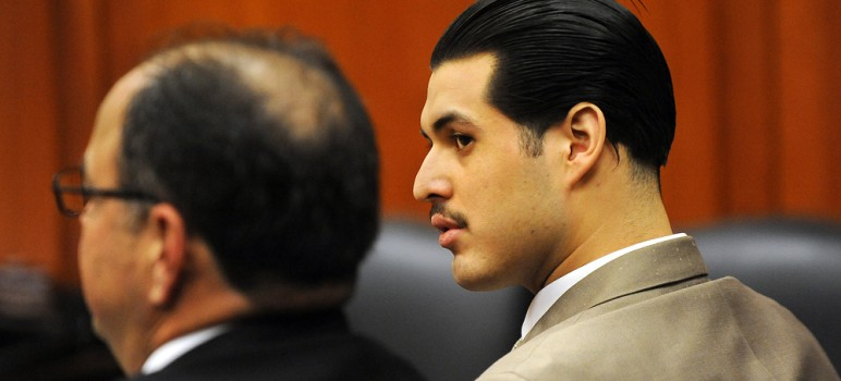 Antolin Garcia Torres stands accused of killing Sierra LaMar, who disappeared on her way to school March 16, 2012. The District Attorney's office is pushing for the death penalty.