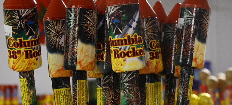 More people are using bigger, more explosive fireworks, city officials say. (Photo by KOMUnews, via Flickr)