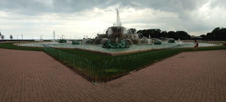 Buckingham Fountain in Grant Park is one of Chicago's best public places. (Photo by James Reber)