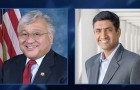 Rep. Mike Honda (left) and challenger Ro Khanna will face each other in a televised debate tonight. (Image via NBC Bay Area Facebook)