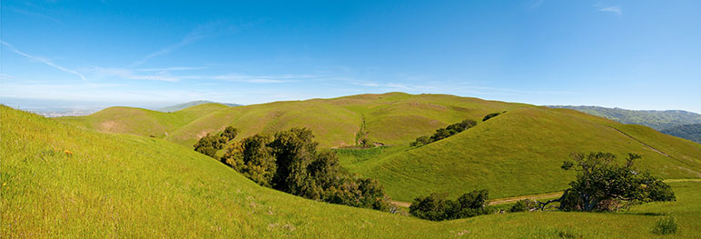 Measure Q would raise money to preserve open space in Silicon Valley. (Photo via Facebook).