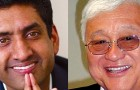 Ro Khanna (left) and Rep. Mike Honda finally are trading barbs after a money bundler called Hillary Clinton supporters a bad word.