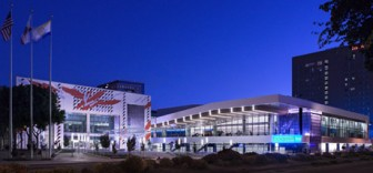 McEnery Convention Center received its name just a few months after Tom McEnery left the San Jose mayor's office. (File photo)