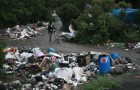"""Police on Thursday evicted roughly 300 others from the homeless camp known as """"The Jungle."""" (Photo by Rodriguez Studios)"""