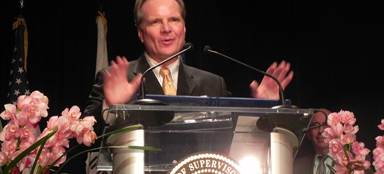 Dave Cortese delivered the 2015 State of the County address.