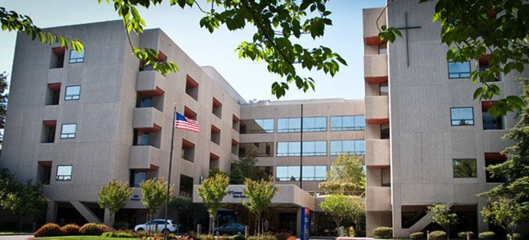 A chain of nonprofit hospitals, including O'Connor Hospital in San Jose, may be sold to a for-profit company. (Photo via Facebook)