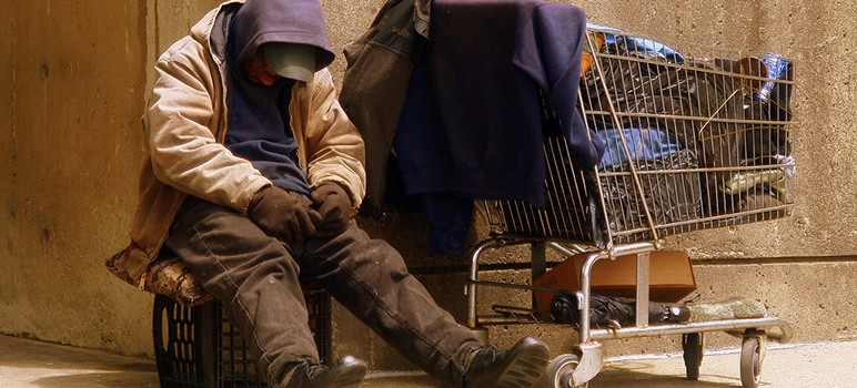 Chronically homeless residents rely heavily on emergency room and psychiatric services. (Photo by Matthew Woitunski, via Wikimedia Commons)