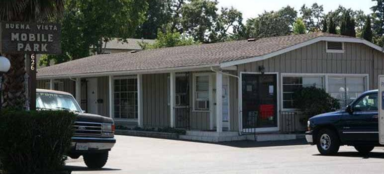 Buena Vista Mobile Home Park is home to 400 low-income residents. (Photo via www.shoppaloalto.com)