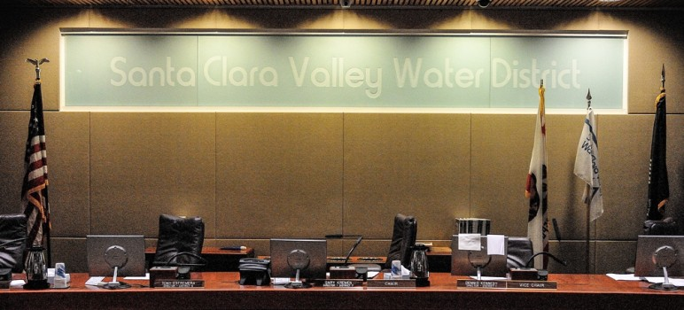 The Santa Clara Valley Water District is once again taking a curious path to accountability. (Photo by Greg Ramar)
