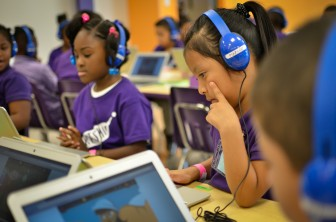 Thousands of students across the globe participated in the Hour of Code.